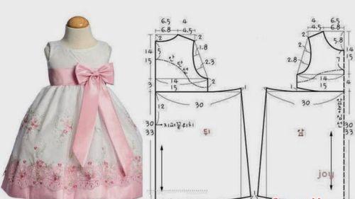 Детское платье - разметка