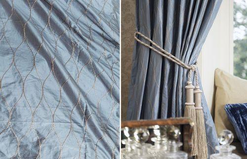 Шелковые шторы