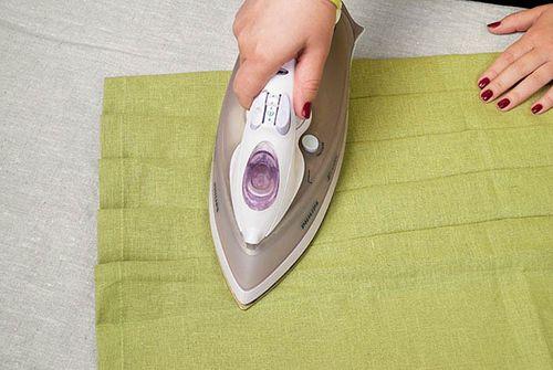 Пропаривание ткани