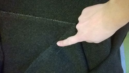 Изнанка ткани