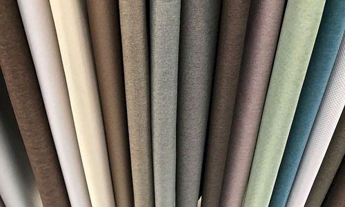 Разноцветные ткани для штор